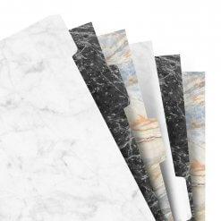 Filofax tabbladen marble