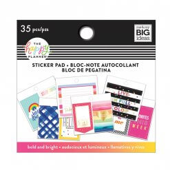 Me & My BIG Ideas Tiny Sticker Pad Bold and Bright
