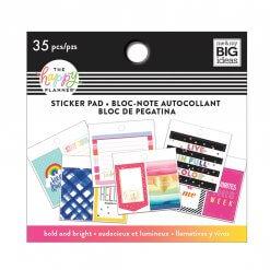 Me & My BIG Ideas Tiny Sticker Pad Bold and Bright