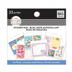 Me & My BIG Ideas Tiny Sticker Pad Floral