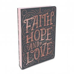 Studio oh! notitieboek Faith, hope and love