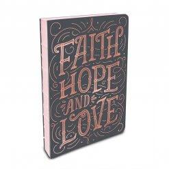 Studio oh! notitieboek Faith, hope and love