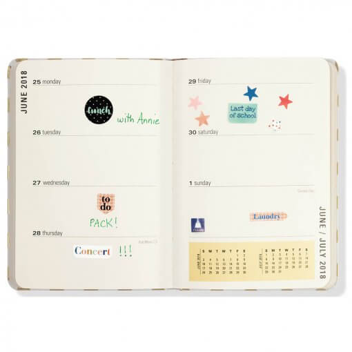 Peter Pauper Weekly Planner Stickers
