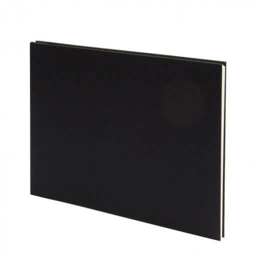 Fotoalbum-Bindewerk-linnen-zwart