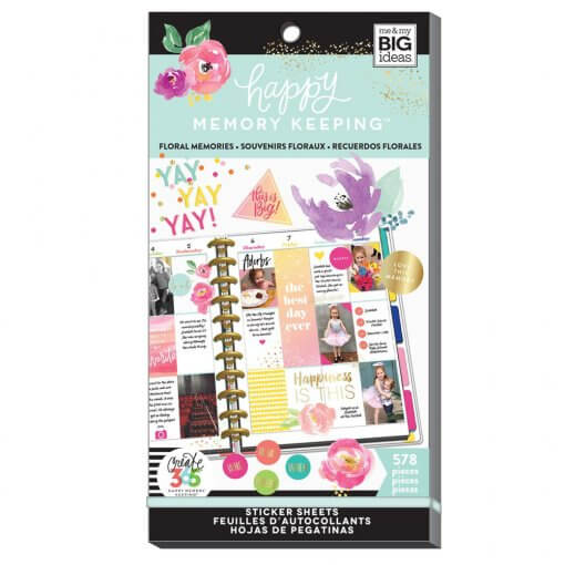 Me-My-BIG-Ideas-Value-Pack-Stickers-Big-Floral-memories