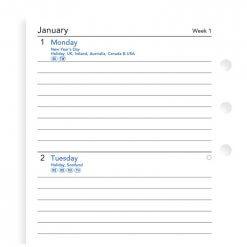 Filofax-navulling-organizer-personal-week-op-twee-paginas-jaarvulling-2019-NL