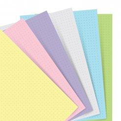 Filofax-navulling-Organizer-Pocket-pastel-dotted
