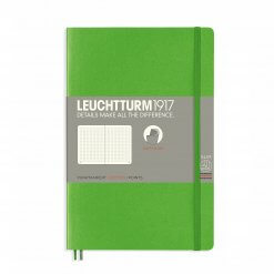 Leuchtturm1917-notitieboek-softcover-b6-dotted-fresh-green-