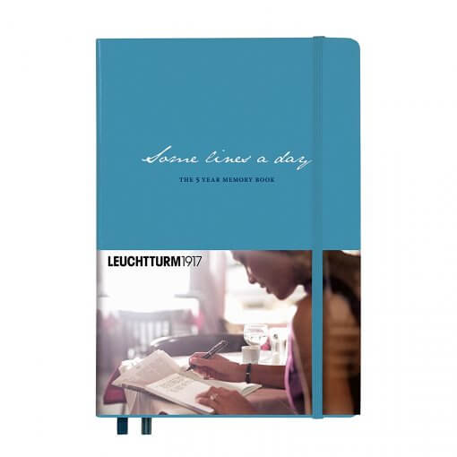 Leuchtturm1917-Some-lines-a-day-nordic-blue
