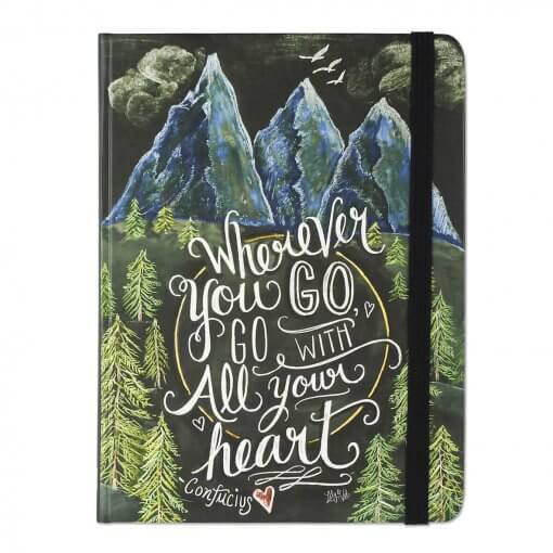 Peter-Pauper-notitieboek-Wherever-you-go-go-with-all-your-heart