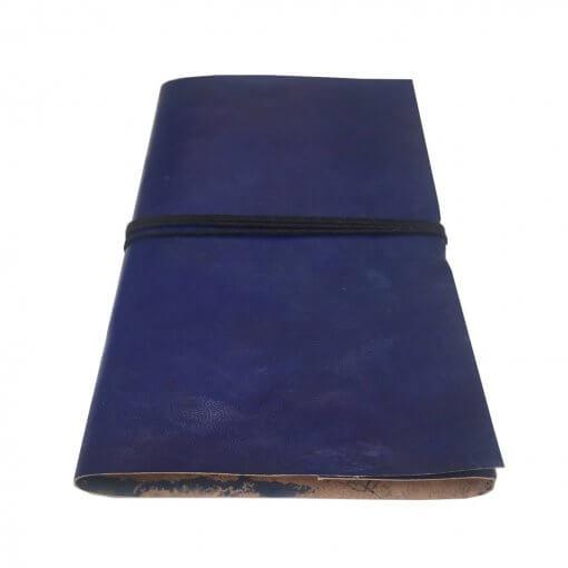 blauw-leren-notitieboek-liggend