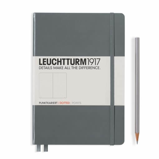 Bullet journal notitieboek Leuchtturm1917 Antraciet