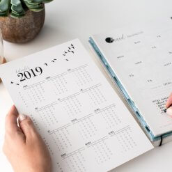 Balans-planner'kalender