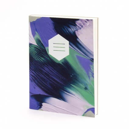 Bindewerk-Notebook-Mixed-Media-Paars