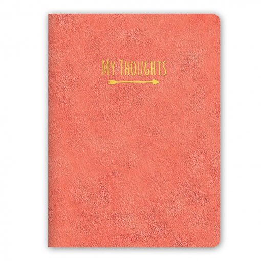 Studio-oh-notitieboek-My-Thoughts-koraal