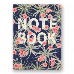 Studio-oh-Notebook-floral-blauw-roze