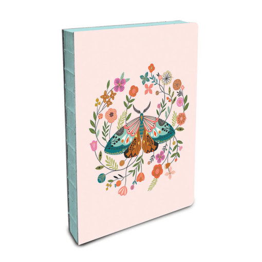Studio Oh Notebook Floral Moth