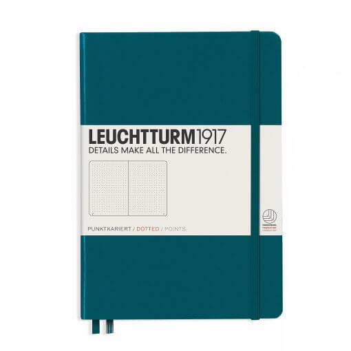 Bullet-journal-notitieboek-Leuchtturm1917-dotted-A5-pacific-Green