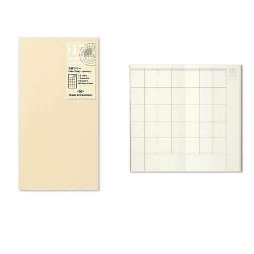 Midori-Travelers-Notebook-navulling-free-diary-monthly-0171