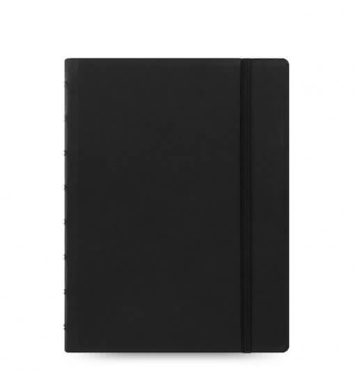 Filofax-notitieboek-classic-zwart-A5-