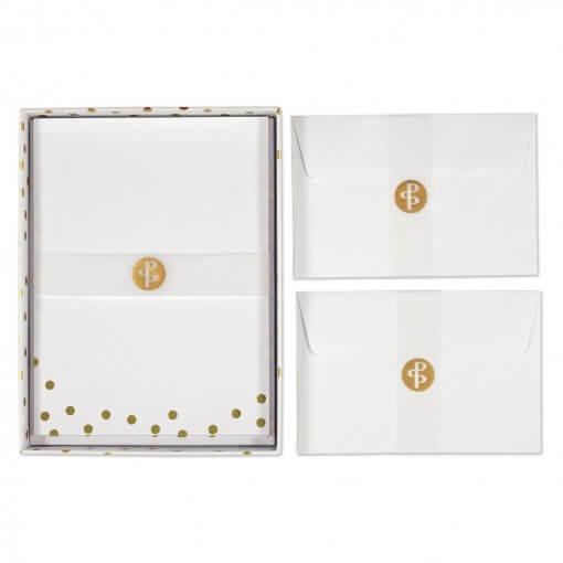 Briefpapier-gouden-stippen-verpakking