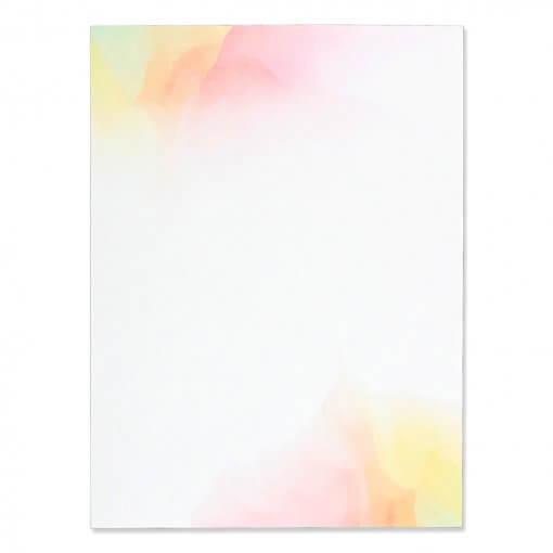 Briefpapier-waterverf