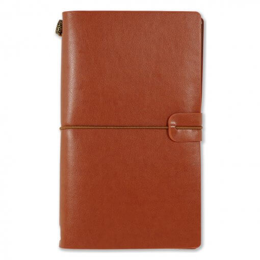 Peter Pauper Voyager Notebook Bruin