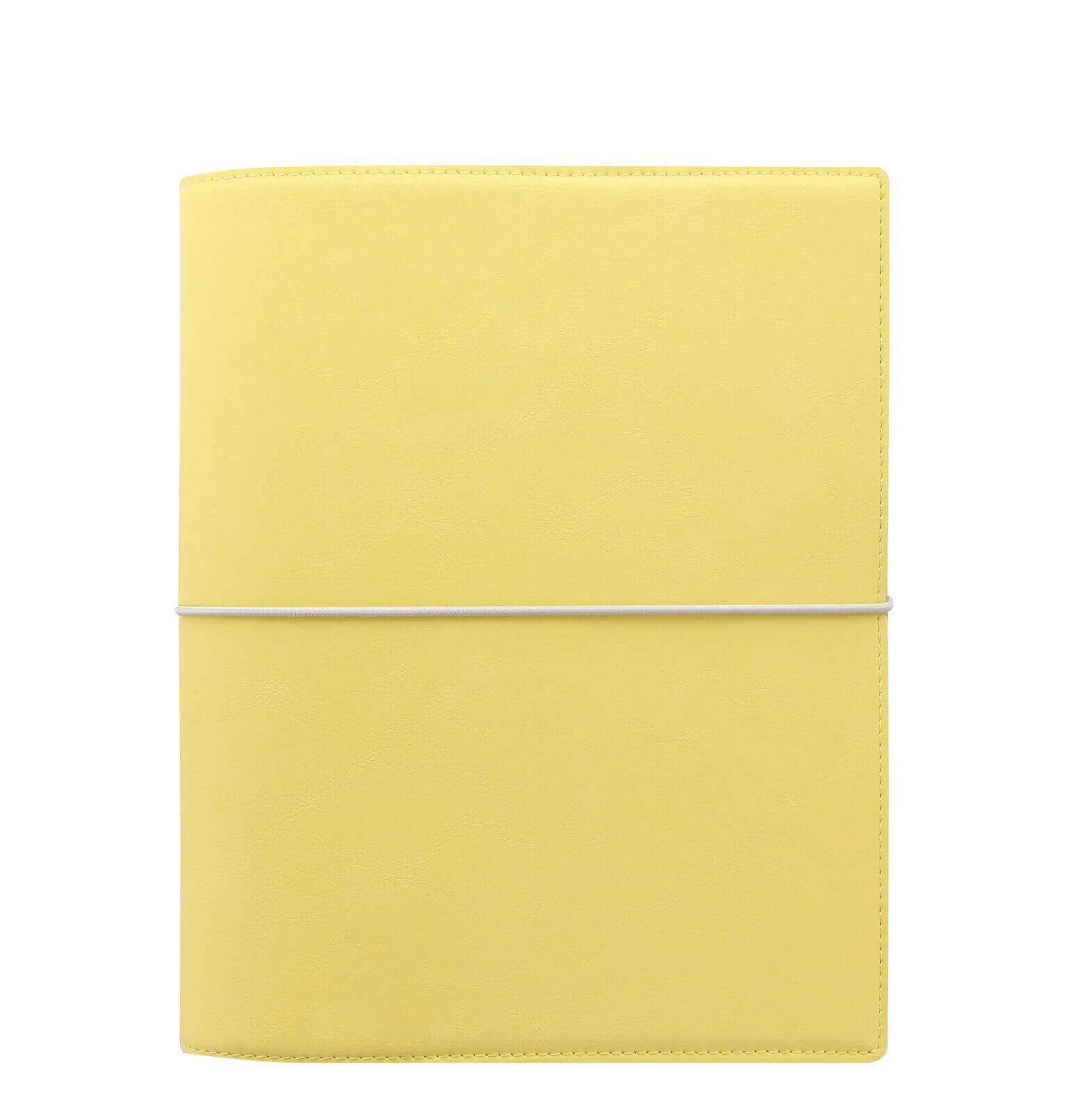 Filofax-organizer-domino-soft-A5-lemon