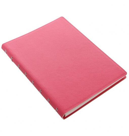 Filofax-notitieboek-Saffiano-peony-A5-schuin