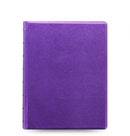 Filofax-notitieboek-saffiano-metallic-violet