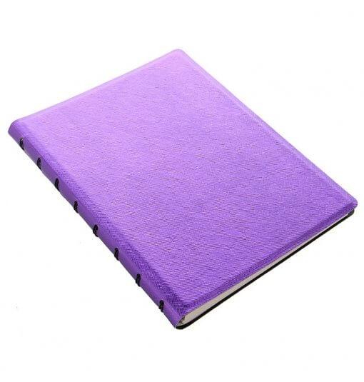 Filofax-notitieboek-saffiano-metallic-violet-schuin