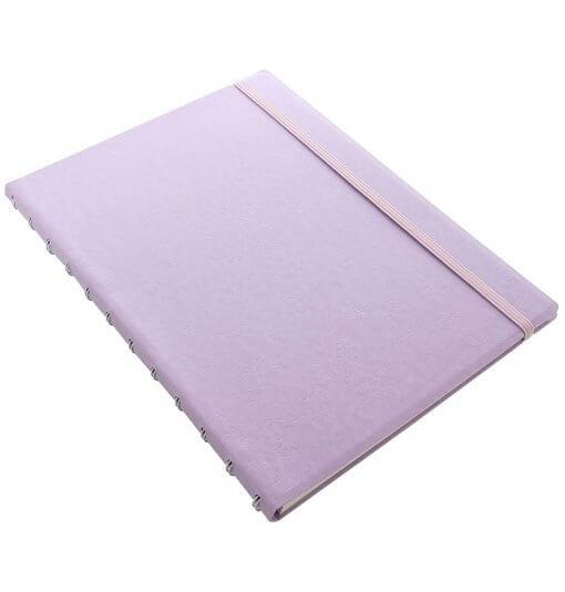 Filofax-notitieboek-classic-pastel-orchid-A4-schuin