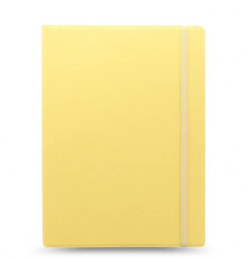 Filofax-notitieboek-classic-pastel-lemon-A4