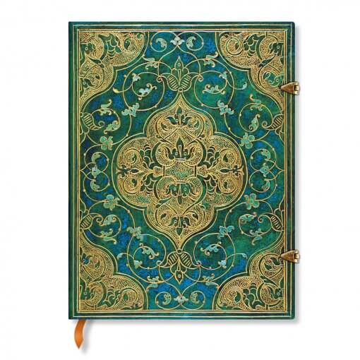 Paperblanks-notitieboek-Turquoise-Chronicles-Ultra