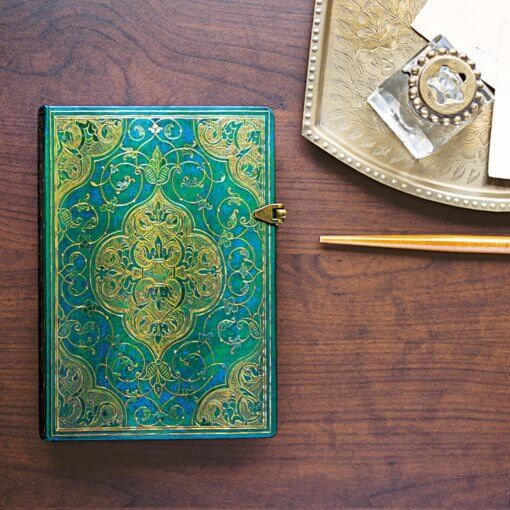 Paperblanks-notitieboek-Turquoise-Chronicles-Ultra-Sfeer