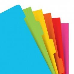 Filofax-organizer-A5-felgekleurde-tabbladen