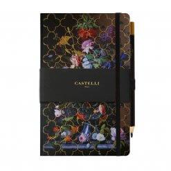 Castelli-notitieboek-Vintage-bloemen-peony
