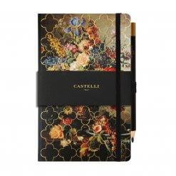 Castelli-notitieboek-vintage-floral-bloemen-rozen