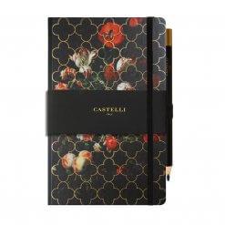 Castelli-notitieboek-vintage-bloemen-tulpen