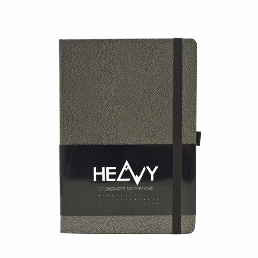 Heavy-Stonepaper-Notebook-Anthracite-Front