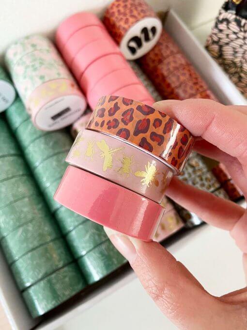 Washi tape wow goods - cosmopolitan pink 1