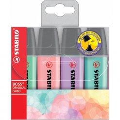 Stabilo-Boss-Original-Pastel-Etui-4-kleuren