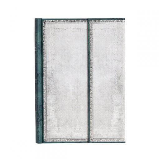 Paperblanks notitieboek Old leather Flint midi