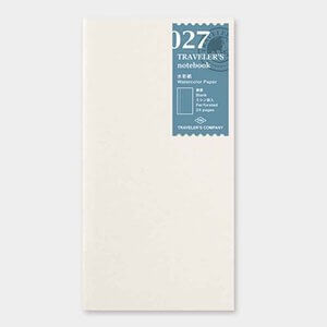Midori Traveler's Notebook navulling watercolor paper 027