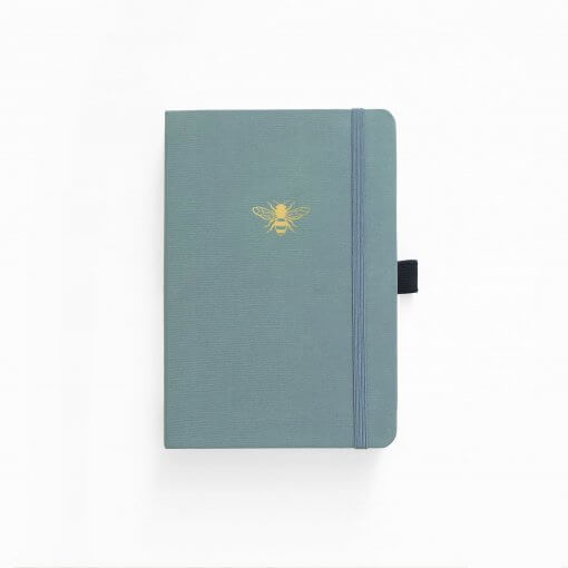Archer & Olive Notebook Dot Grid - Vintage Bee voor