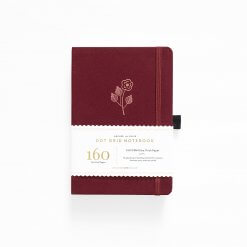 Archer and Olive Notebook Dot Grid - Rose Gold