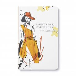 Notitieboek Fashions fade style is eternal
