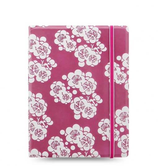 Filofax notitieboek impressions pink & white
