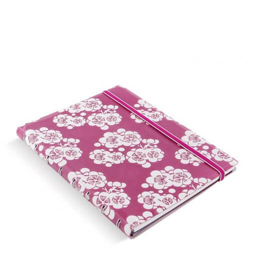 Filofax notitieboek impressions pink & white 1