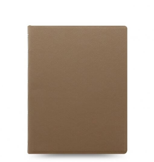 Filofax notitieboek Saffiano Fawn A5